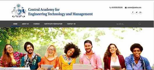 Educational institute web design