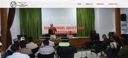 Website Design of psychologist firm