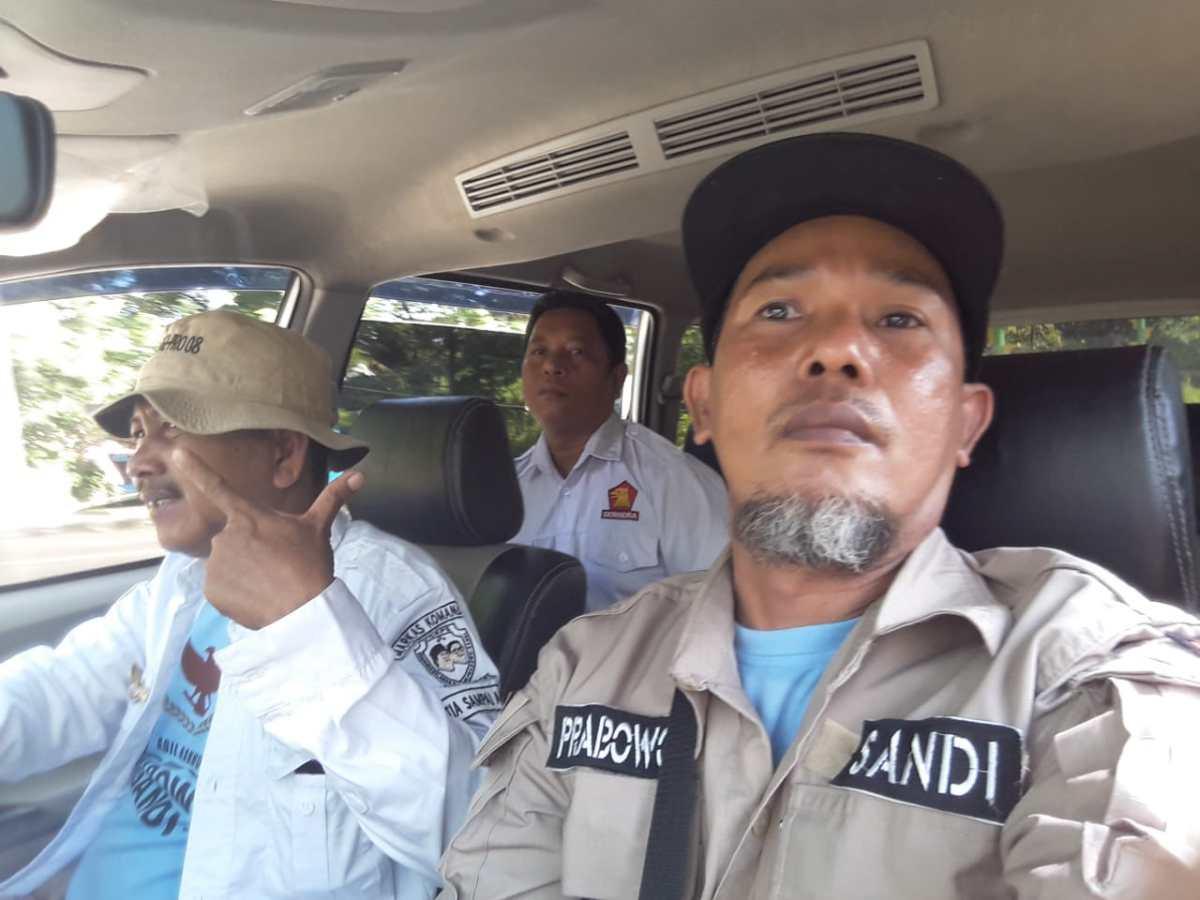 Ratusan Relawan Prabowo - Sandi Parepare, Hadiri Kampanye Akbar di Makassar