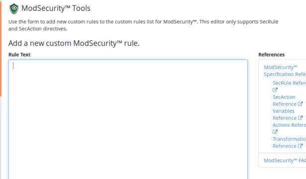 modsecurity-rulebox