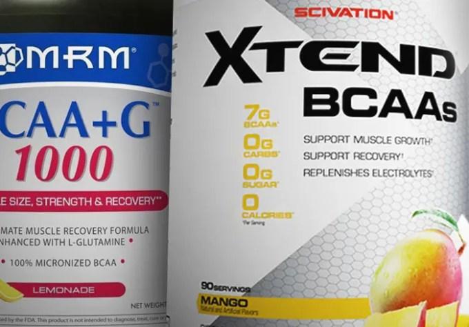 「MRM BCAA+G1000」から「Scivation Xtend(エクステンド) BCAA+シトルリン」に切り替えてみた