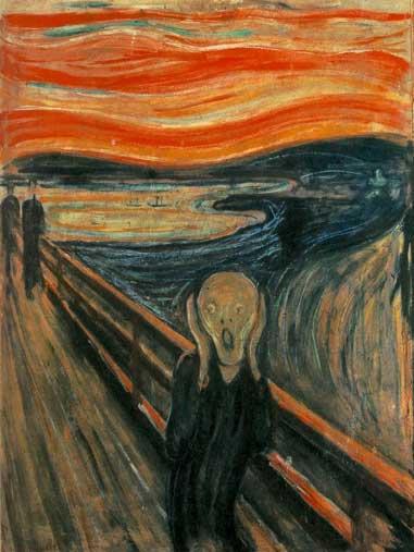 edvard munch - the scream