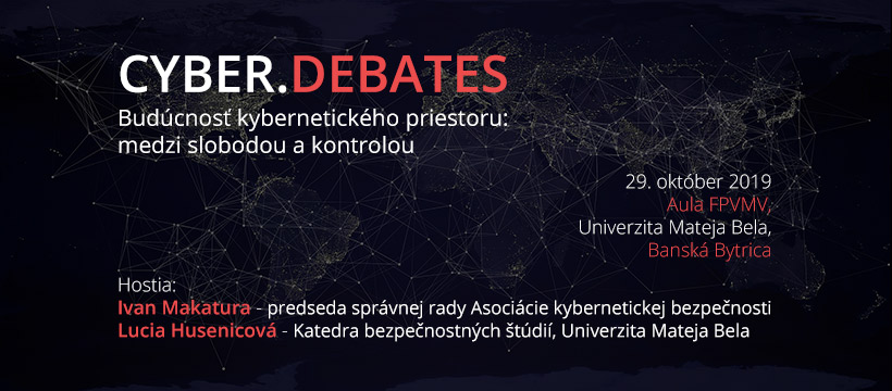 Cyber.Debates: Budúcnosť kybernetického priestoru
