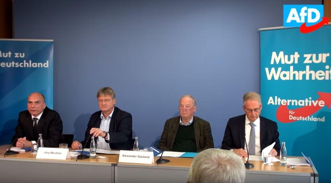 Pressekonferenz: Die AfD, der Verfassungsschutz und die Meinungsfreiheit