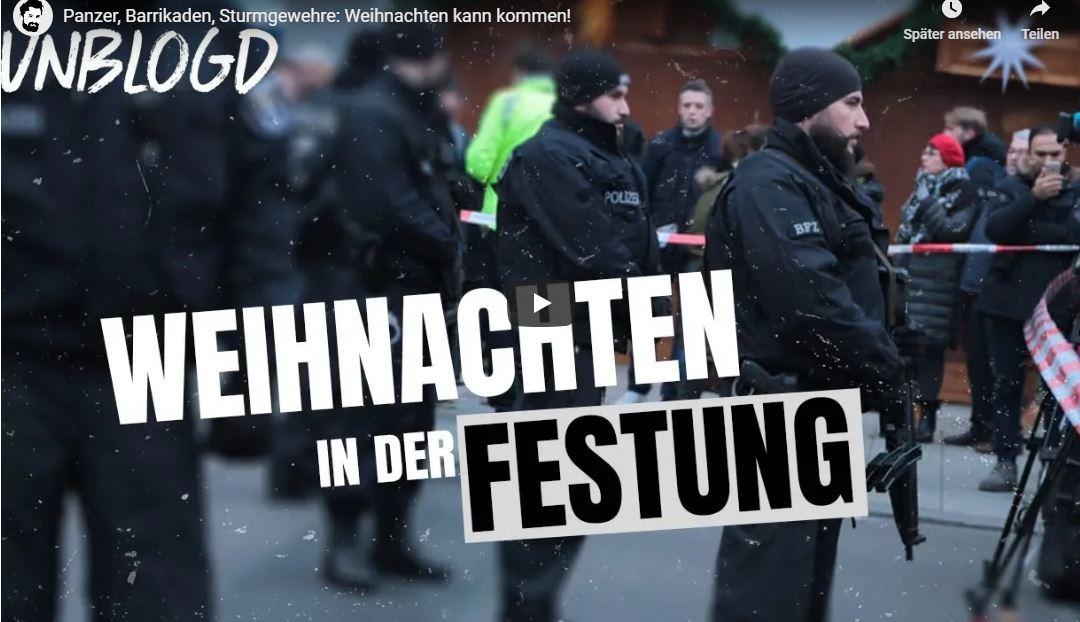 Panzer, Barrikaden, Sturmgewehre: Weihnachten kann kommen!