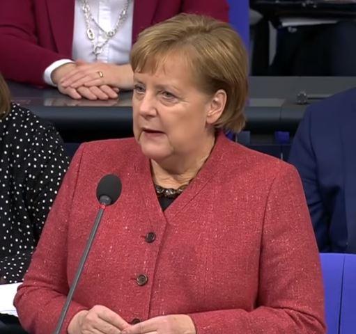 """Merkel: """"Das ist nun mal so"""", Migrationspakt """"für alle gültig"""", wenn 2/3-Mehrheit erreicht wird"""