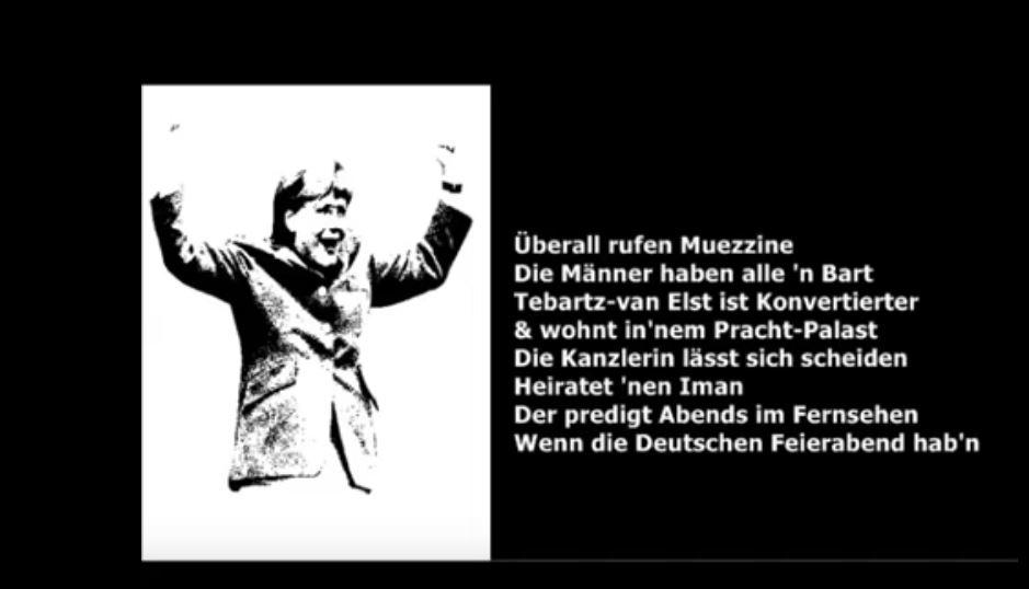 Ein Spottlied – Oh Kanzlerin von Deutschland – Was hast du nur getan?
