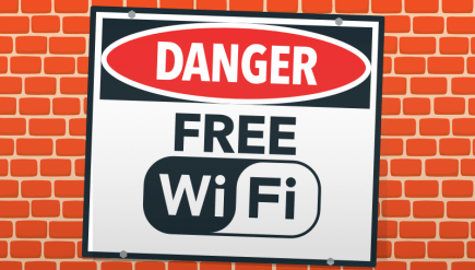 Dangers of free wifi