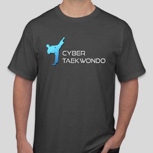 Cyber Taekwondo T-Shirt w/Full Logo