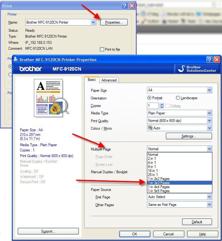 print a file poster size cybertext