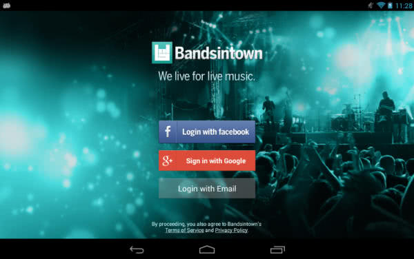 Bandsintown Concerts App
