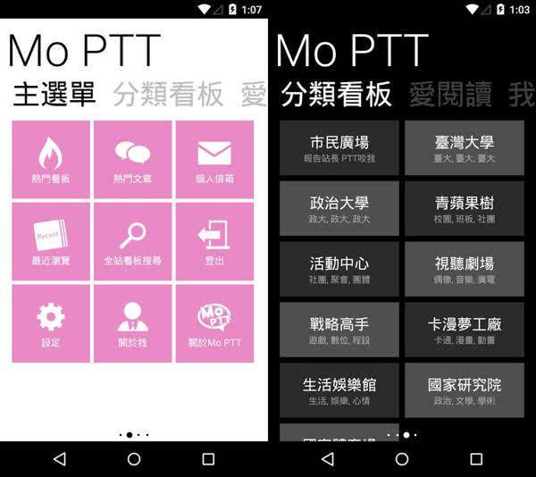 Mo PTT App