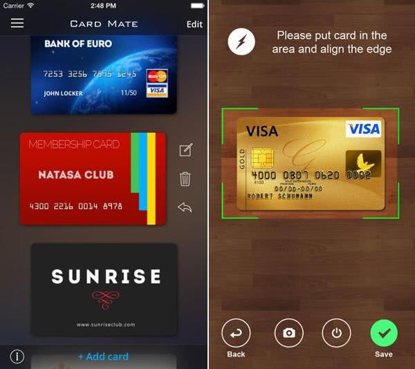 卡片管家 App