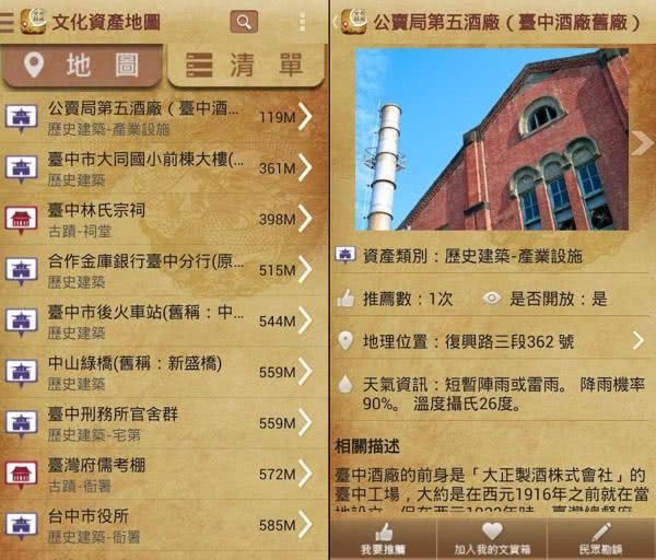 文化資產導覽 App