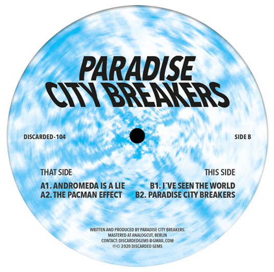 Paradise City Breakers - vinilos de musica electronica