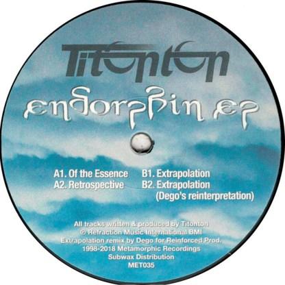 Endorphin ep - vinilos de musica electronica