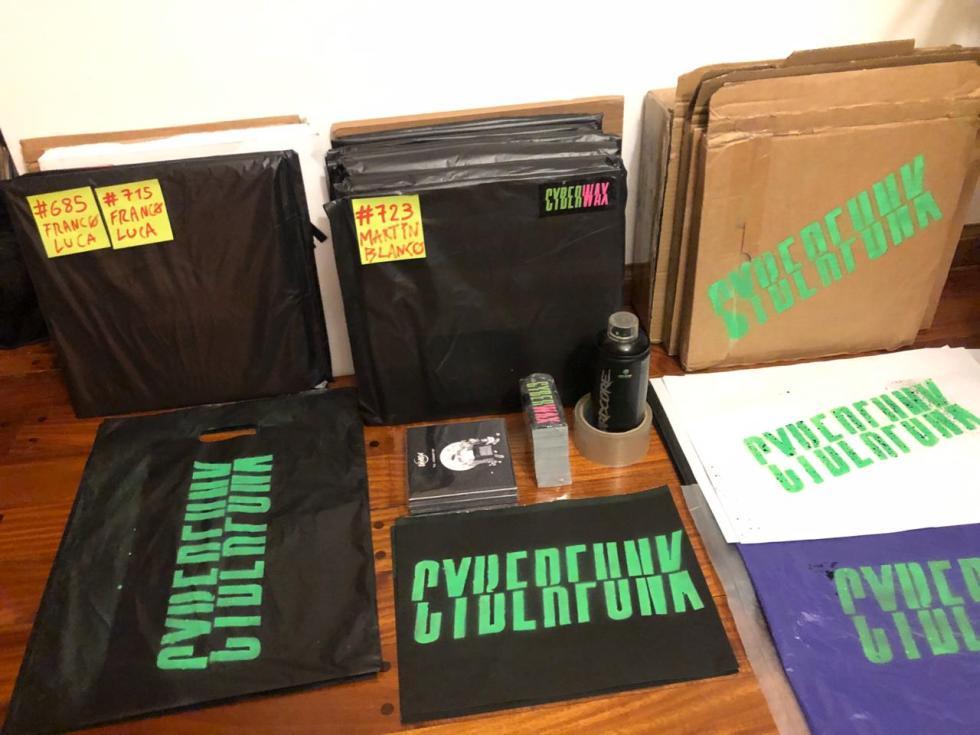Cyberwax - vinilos de musica electronica
