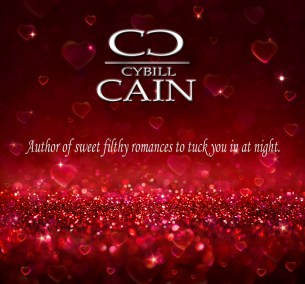 Cybill Cain Banner Sparkle Red