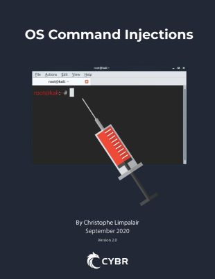 OS Command Injections Ebook cover
