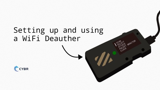 Set up and use a WiFi Deauther (Spacehuhn Tech on ESP8266)