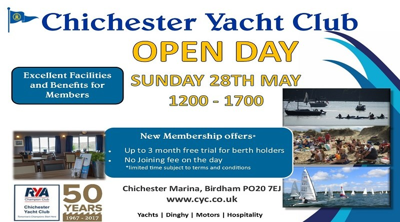Open Day May 28th