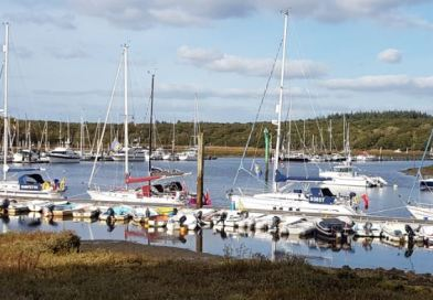 Yacht Section Cruise to Buckler's Hard & Universal Marina, 3-5 October 2017