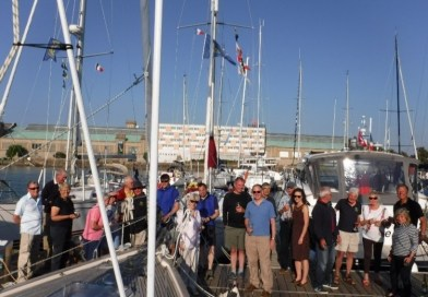 CYC Cross Channel Race and Onward Rear Commodore's Cruise 2018