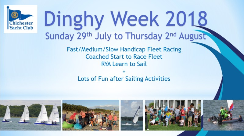 Dinghy Week 2018