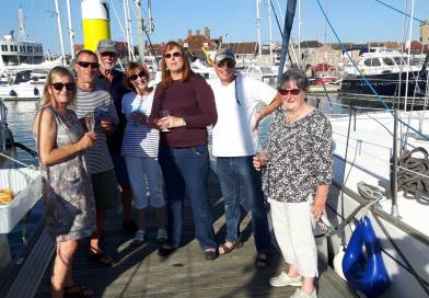 Yacht cruise to Yarmouth and East Cowes