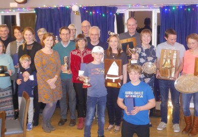 Dinghy Prize Giving 2018