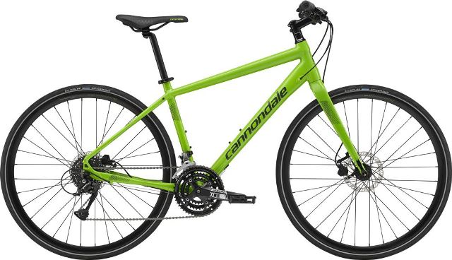 cannondale QUICK DISC 4 GRN