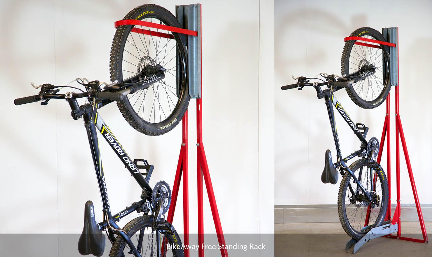 bikeaway free standing rack cycle works