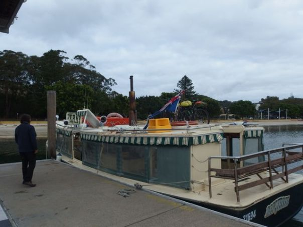 Nelson Bay to Tea Gardens Ferry