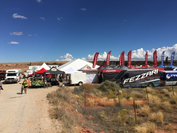 The tents and vendors of Outerbike were a pleasant surprise.