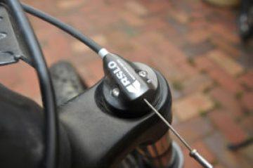 Front suspension lockiing on Gepida Ruga