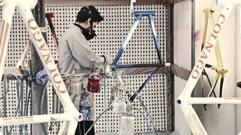 Colnago c60 Painting process