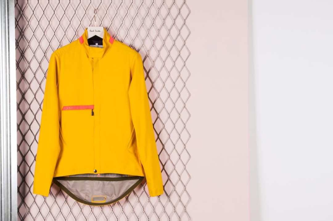 Paul Smith Men's 531 Yellow Waterproof Cycling Jacket