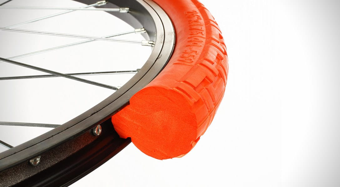 Tannus tyres promise not to leave riders deflated