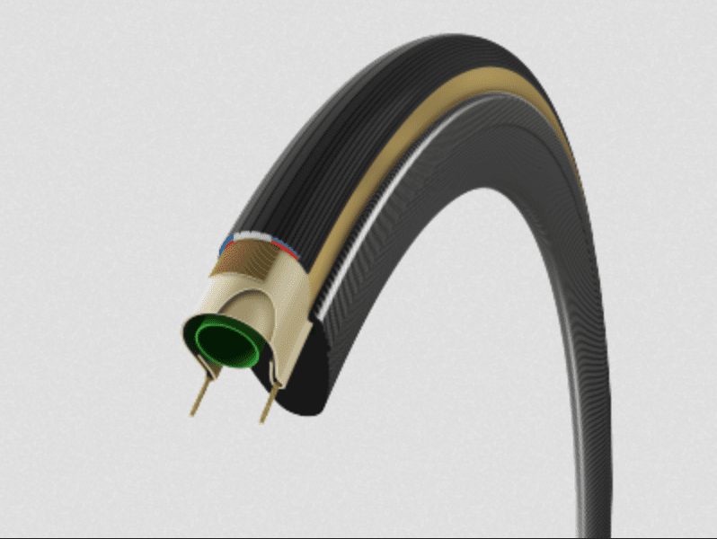 Vittoria road tyres let you feel the G+ force