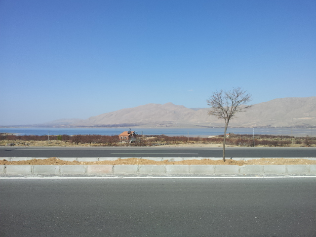 Beyond Elazig the amenities disappeared