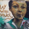 Street art in Phnom Penh that captured the sentiment for 2015.