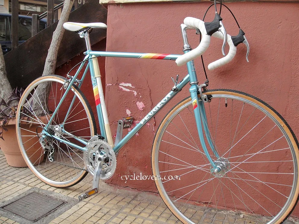 Peugeot Bicycle Restoration - Cycle Lovers