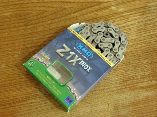 KMC, Z1, inox, chain, αλυσίδα, ποδηλάτου, ανοξείδωτη
