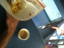 the food was still just as risky looking as ever on Indian trains