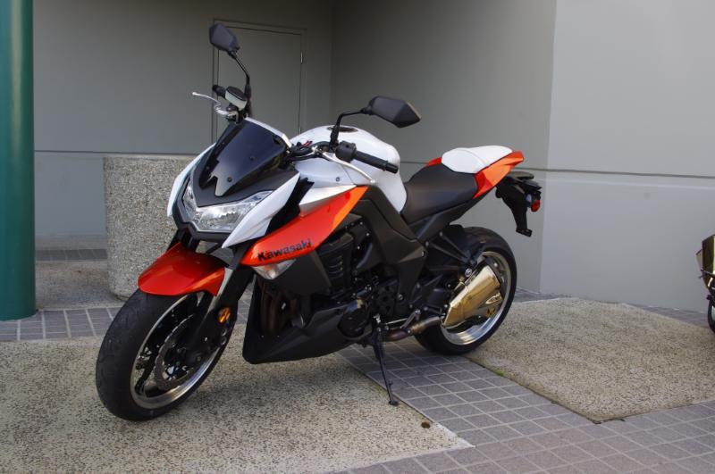 2010 Z1000 Orange Black