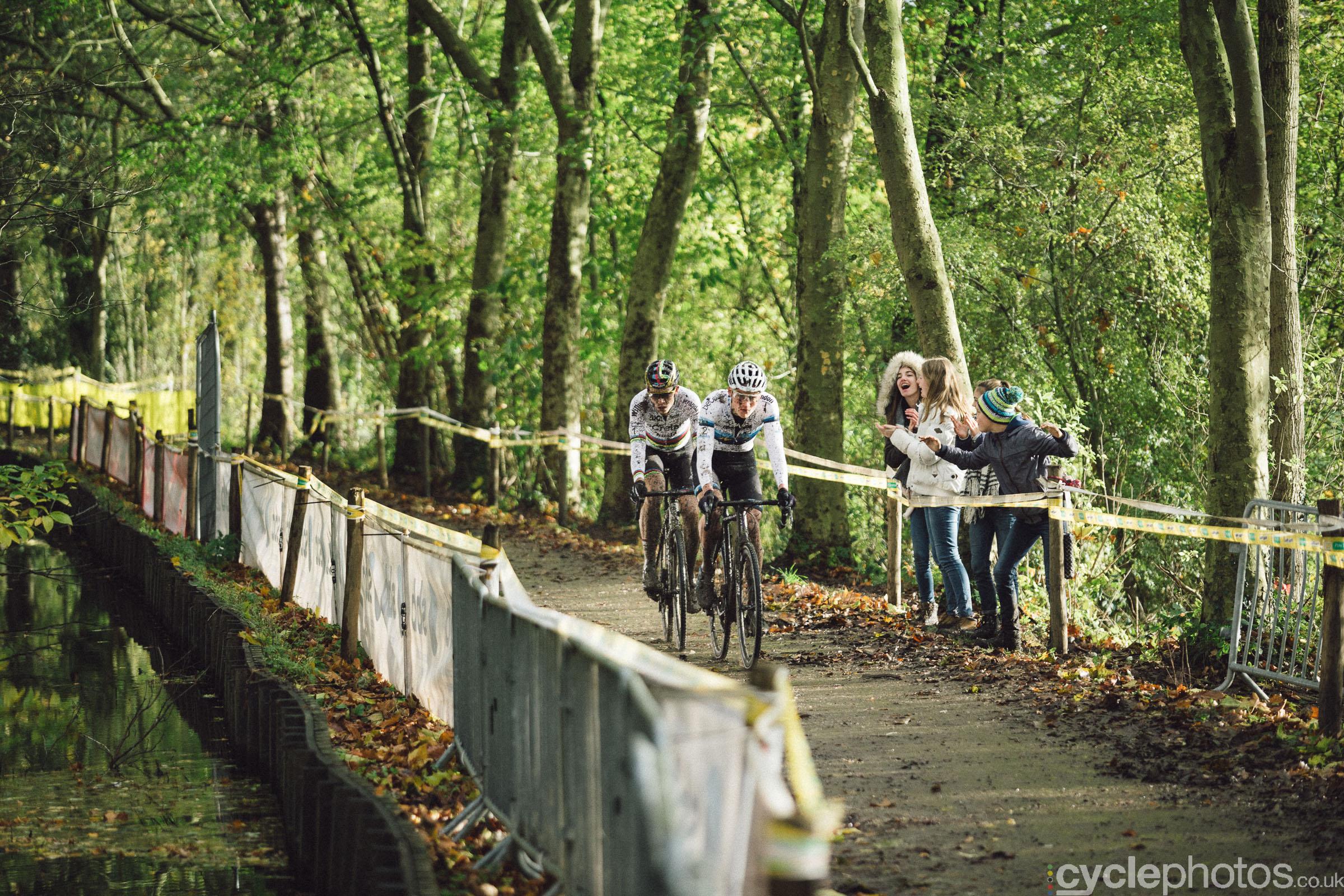 Mathieu van der Poel at Cyclocross Superprestige #5 - Gavere, BEL