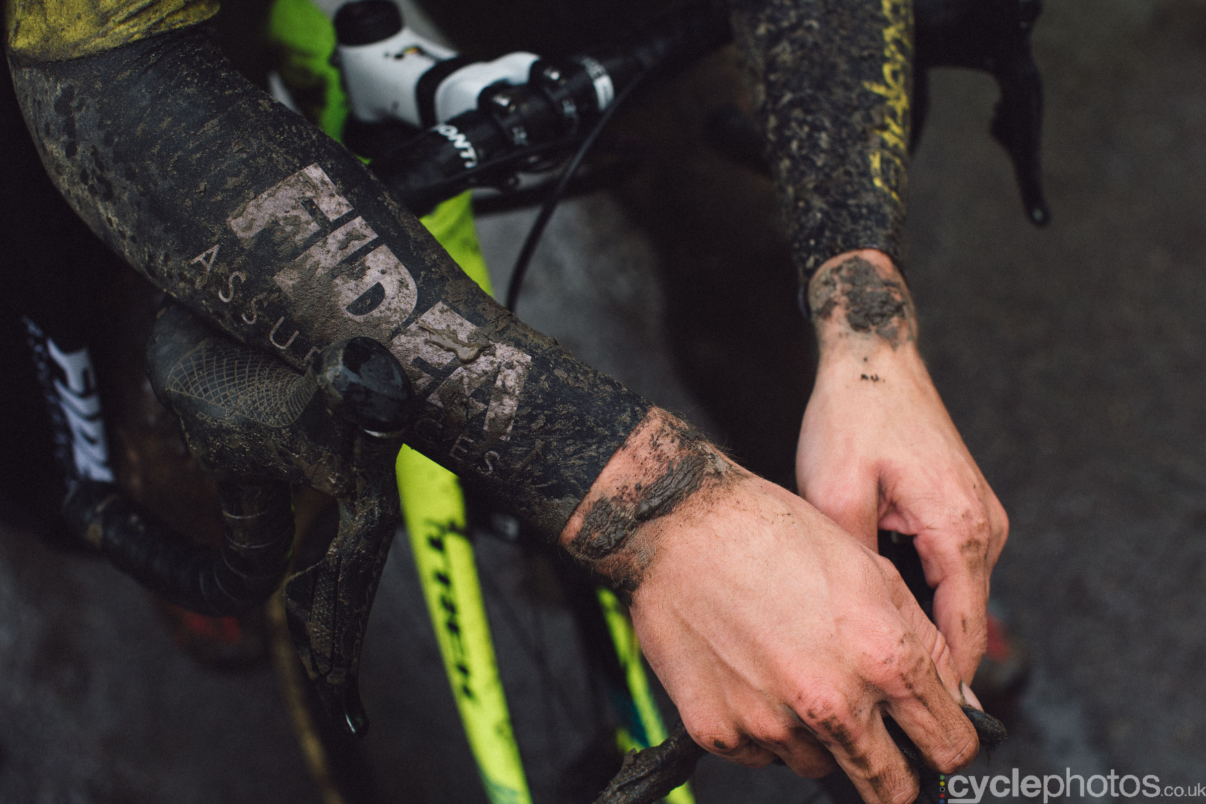Quinten Hermans at Cyclocross Superprestige #5 - Gavere, BEL