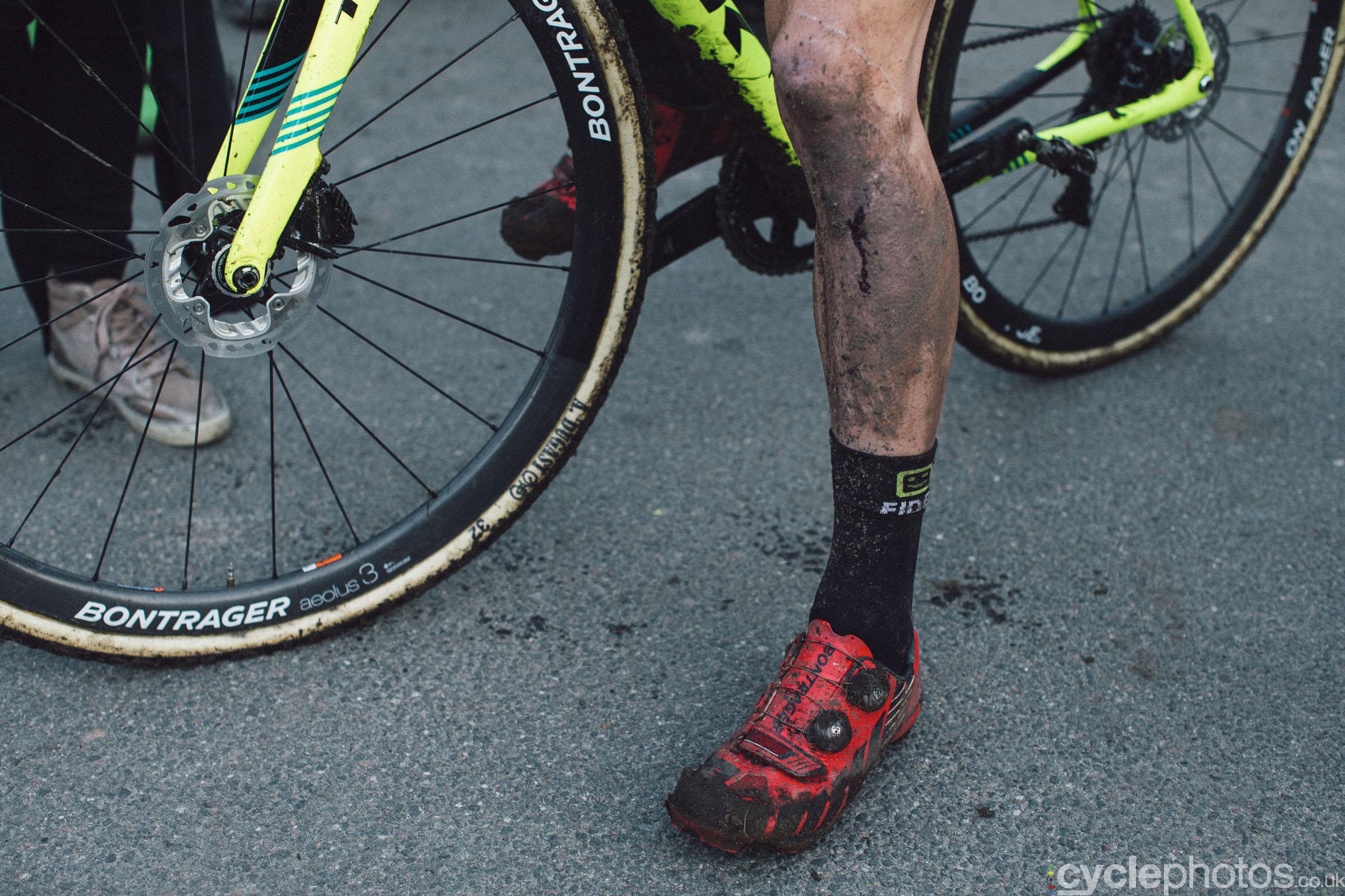 Corne van Kessel at UCI Cyclocross World Cup #4 - Bogense, DEN