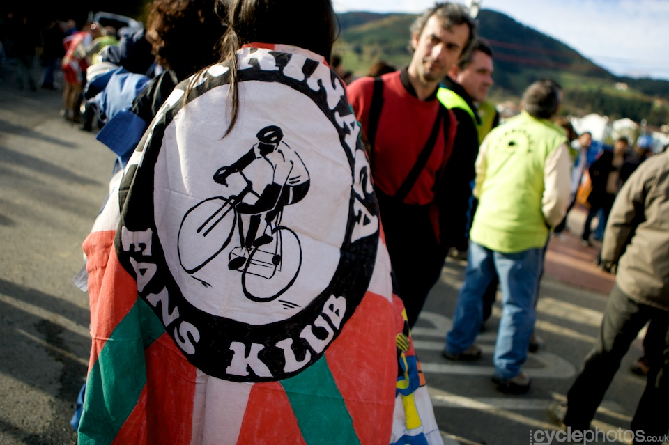 Basque cycling fan