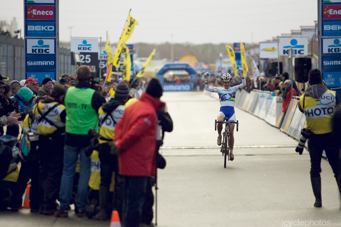 The victorious Marianne Vos